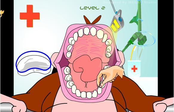 牙疼表情卡通图片